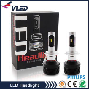 2017 Hot Sale A7 Car Headlight Hi/Lo Beam LED Headlight with Dual-Circuit Module Design pictures & photos