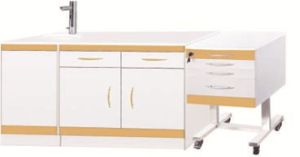 Dental Clinic Supply Dental Cabinet with Mobile Trolley (LUK-05) pictures & photos
