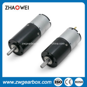 24V High Efficiency Small Reduction Gearbox Motor pictures & photos