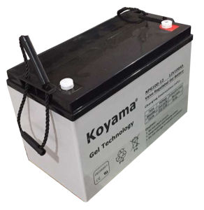 Gel Deep Cycle Battery Lead-Acid Type 12V100ah for Solar System pictures & photos