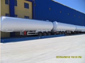 S516 ASME Material LPG Tank Trailer LPG Transportation Truck Trailer pictures & photos