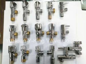 Factory Sales Brass Control Gate Valve with Iron Handle (YD-3005-1) pictures & photos