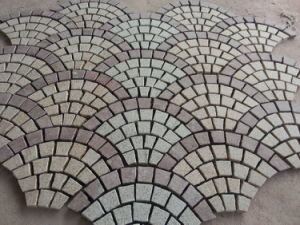 G603/G654/G682/Porphyry White/Grey/Black/Yellow/Red Granite/Basalt Cobblestone Cube/Cobble/Paving Stone pictures & photos
