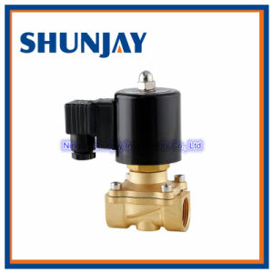 High Quality Brass Material Water Gas Oil Solenoid Valve