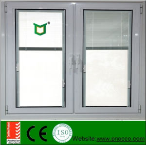 Horizontal Opening Pattern Casement Crank Window and Door with Insects Proof Screen pictures & photos