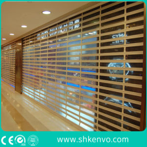 Commercial Store Automatic Transparent Clear Polycarbonate Roller Shutter pictures & photos