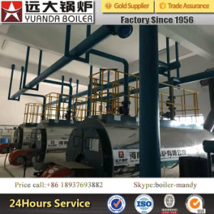 Oil Fired Hot Water Boiler for Hotel School Hospital Greenhouse pictures & photos
