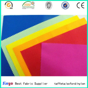 Soft Polyurethane Coated 100% Polyester Oxford 72t, 600d Fabric for Cushion pictures & photos
