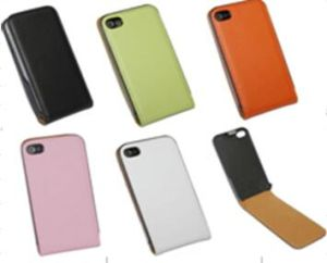 I-05 iPhone 4G /4s Smart Phone Use Flip Leather Case /Funda/Protective Leather Case/Shell Cover pictures & photos