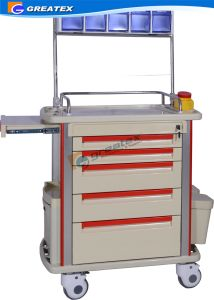 Hospital ABS Anesthesia Veterinary Clinic Equipment Trolley (GT-Q203) pictures & photos
