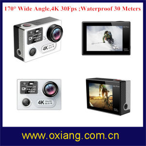 WiFi Sport Action Camera 4k 30fps 170 Degree Sport Camera pictures & photos