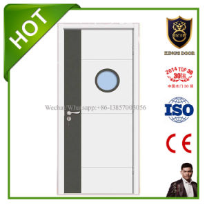 Modern Style Double Colored MDF Glass Doors for Hospital pictures & photos