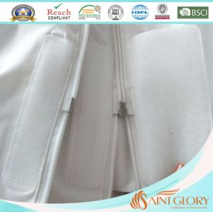 Double Zippers Waterproof Mattress Protector pictures & photos