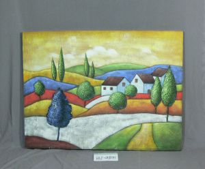 The Sun Rises of The Pattern of Home Canvas Hanging Paintings pictures & photos