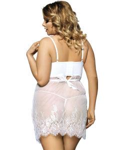 New Arrivals Super Brand White Transparent OEM Services Wholesale Popular Plus Size Clothes pictures & photos