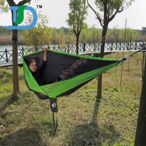 Carries Furniture Portable Nylon Travel Camping Hammock pictures & photos