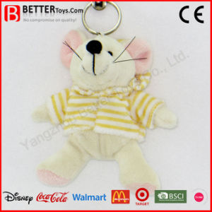 Cheap Stuffed Mouse Key Ring Plush Animal Rat Key Chain pictures & photos
