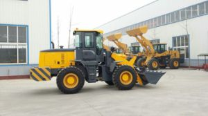 Heavy Duty 3.6ton Front Wheel Loader with Deutz Engine Wide Tires pictures & photos
