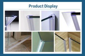 Pcv Bathroom Shower Seal Strip or Water Preventing Bar (W-103) pictures & photos