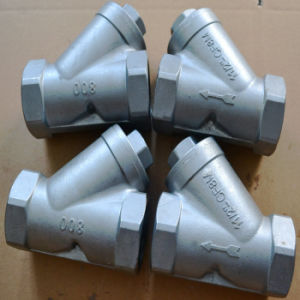 Y Type Ss304/Ss316 Thread Strainer (SY11) pictures & photos