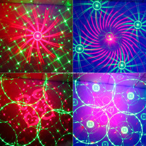 LED Laser Light Mini Laser Multi Patterns Effect LED RGB Laser Disco Light pictures & photos