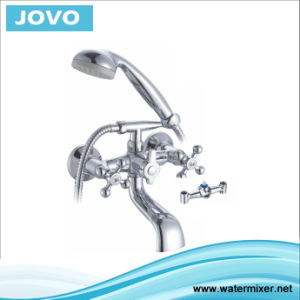New Design Double Handle Bathtub Jv74201 pictures & photos