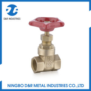200 Wog Brass Gate Valve Parts Drawing pictures & photos