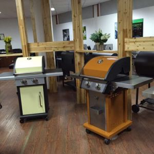 Euro Outdoor 3 Burner BBQ Gas Grill with Ce pictures & photos