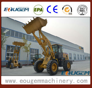 Eougem Wheel Loader with Trencher Zl30 3ton pictures & photos