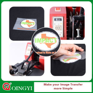 Qingyi Colorful Heat Transfer Label for Garment pictures & photos