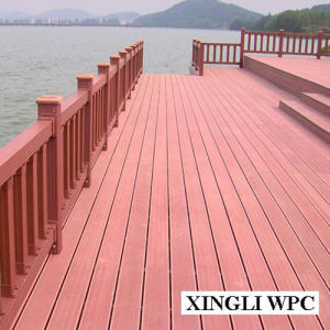 Sales Promotion PE Wood Plastic Composite pictures & photos