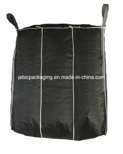 PE Liner Beige Baffle Flexible FIBC Big Bags for Packaging Starch Powder pictures & photos
