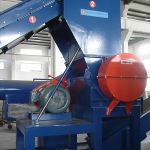 Stainless Steel Plastic Recycling Machine PE Film Crushing Washing Drying pictures & photos