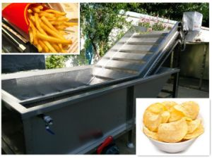 Factory Price Cheap Fresh Potato Chips Machinery pictures & photos