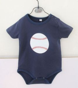 New Arrival Monogrammed Baby Sports Romper pictures & photos