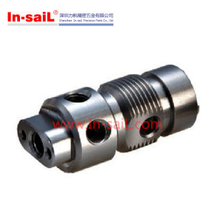 High Precision Female Thread Machining Components with Holes Around pictures & photos