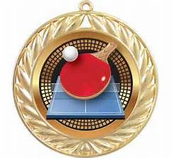 Custom Brass Souvenir Table Tennis Award Medal pictures & photos