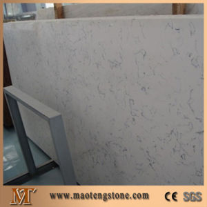 Sparkle Glass White Artificial Quartz Stone Solid Surface pictures & photos