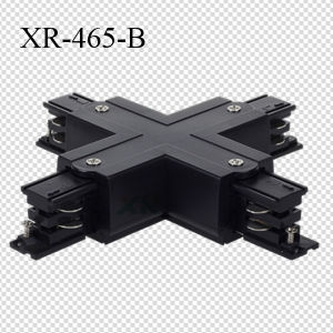 Universal 3 Phase Track X Connector for Lighting Track Rail (XR-465) pictures & photos