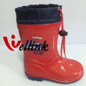 Kids New Style High Quality Rubber Rainboots pictures & photos