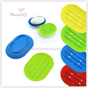 Bathroom Supplies Accessories Easy Clean Cheap Silicone Soap Holder pictures & photos