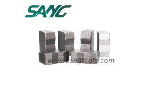 Diamond Blade Segment for Cutting Stone (SG0341) pictures & photos