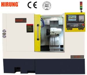 High Precision Linear Guideway CNC Lathe with C Axis/Milling Tool/2 Axis Live Tool pictures & photos