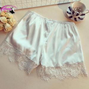Sufmmer Floral Girl Safety Short Pants Female Underwear Women Lace Ruffles Women\\\′s Sheer Panties Butt Lifter Briefs pictures & photos