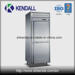 2 Doors Stainless Steel Commercial Kitchen Freezer