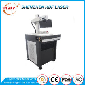 20W Mopa Metal Standing Fiber Laser Marking Machine for iPhone Case Logo Marking and Color Marking pictures & photos