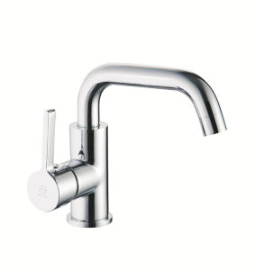 Ce Chrome Plating Single Lever Kitchen Faucet