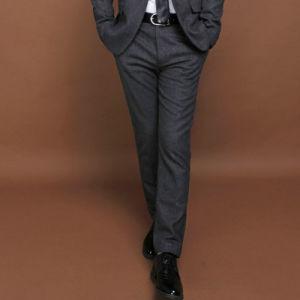 Wool Business Suit Pants for Men pictures & photos