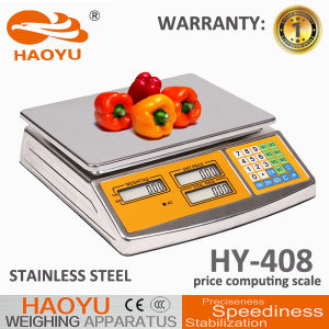 High Quality Strong Body LED Red Light Price Computing Scale pictures & photos