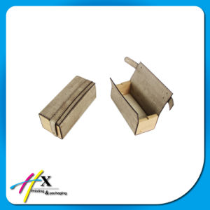 Wholesale Matt-Paint Walnut Wood Hinged Jewelry Watch Gift Packing Box pictures & photos